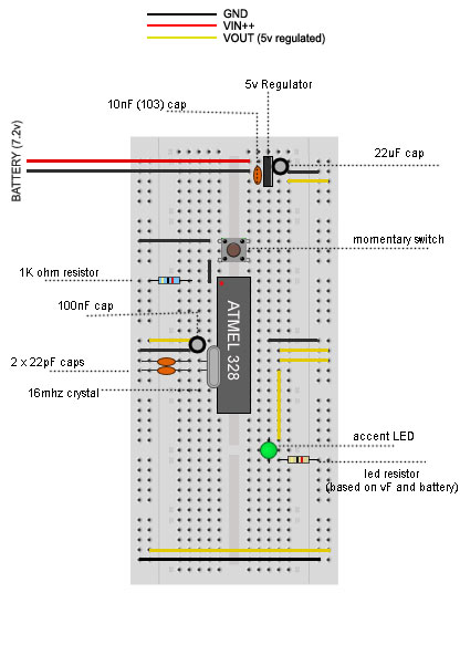 Arduino circuit/breadboard not working at higher voltage? - Page 2