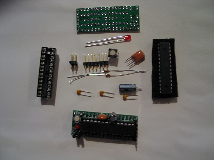Building an arduino on breadboard digikey parts