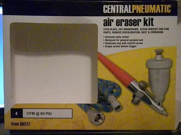 10 LBS Brown Aluminum Oxide Sand Blasting Abrasive 220 Grit Air Erasor