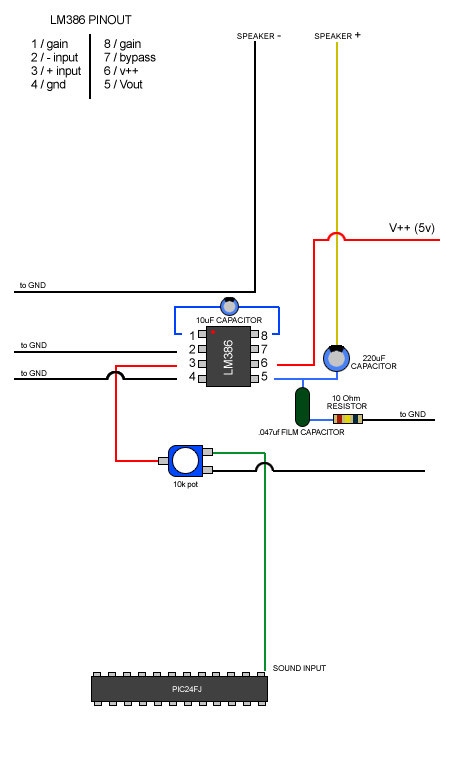 How to wire up LM386 amp for audio? - Page 2